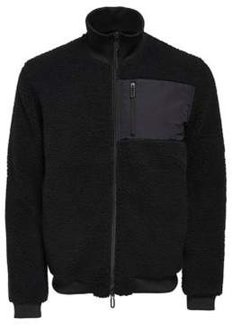 ONLY & SONS Textured Zip-Front Jacket