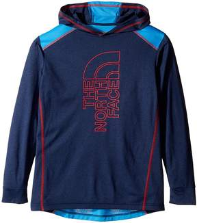 The North Face Kids Long Sleeve Reactor Hoodie Boy's Swea...