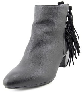 Thalia Sodi Lorys Pointed Toe Leather Bootie.