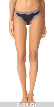 Calvin Klein Underwear Thong with Lace