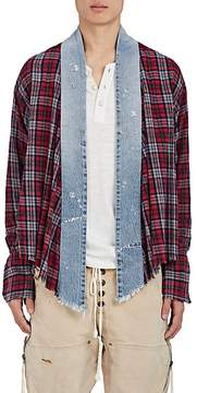 Greg Lauren Men's thedrop@barneys: Studio Cotton Flannel Shirt