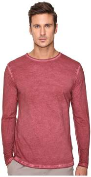 Publish Divo - Premium Oil Washed Long Sleeve Knit Men's Clothing