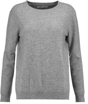 Chinti and Parker Heart Intarsia Wool And Cashmere-Blend Sweater