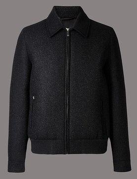 Marks and Spencer Wool Blend Jacket