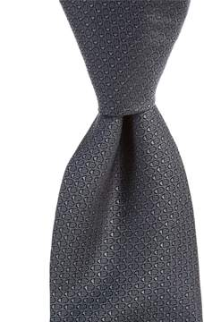 Murano Big & Tall Shell Solid Traditional Silk Tie