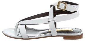Rupert Sanderson Leather Thong Sandals
