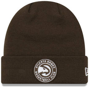 New Era Atlanta Hawks Fall Time Cuff Knit Hat