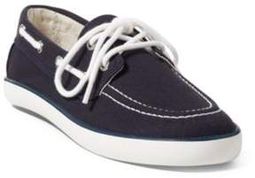 Ralph Lauren Sander Boat Shoe Navy Canvas 11.5