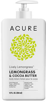 Acure Organics Body Lotion Firming Lemongrass + Moroccan Argan Oil