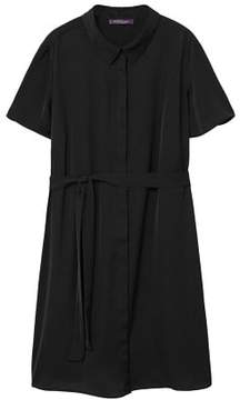 Violeta BY MANGO Flowy shirt dress
