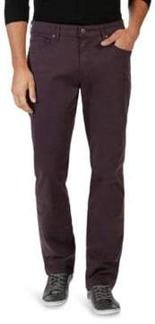 Paige Normandie Slim-Fit Twill Pants