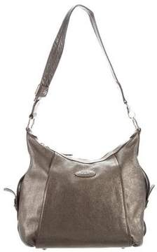 Tod's Metallic Leather Hobo