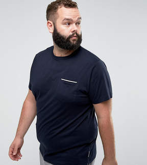French Connection PLUS Tipped Pocket T-Shirt