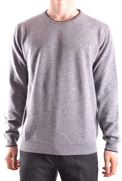 Altea Men's Grey Wool Sweater.