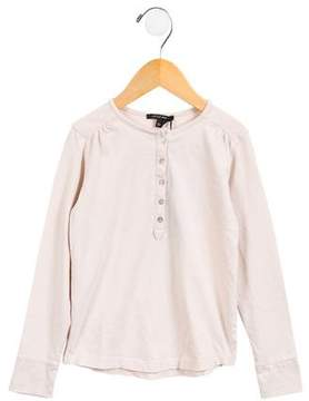 Little Marc Jacobs Girls' Knit Long Sleeve Top