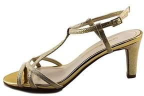 Caparros Womens Bonita Open Toe Special Occasion T-strap Sandals.