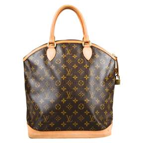 Louis Vuitton Lockit cloth tote - BROWN - STYLE