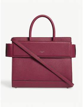 Givenchy Fig Pink Grained Modern Horizon Leather Tote Bag
