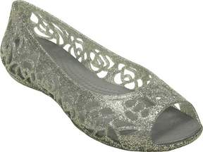 Crocs Isabella Glitter Flat Juniors (Girls')