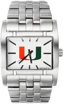 Rockwell Kohl's Miami Hurricanes Apostle Stainless Steel Watch - Men