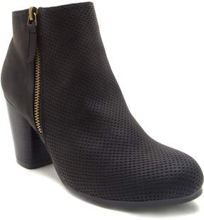 Qupid Black Sake Ankle Boot - Women