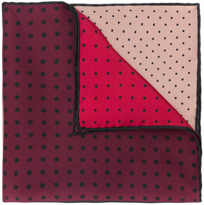 Lanvin polka-dot pocket handkerchief