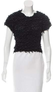 Timo Weiland Wool-Blend Crop Top