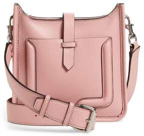 Rebecca Minkoff Mini Unlined Leather Feed Bag - PINK - STYLE