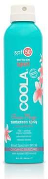Coola Eco-Lux Sport Continuous Spray SPF 50 Sunscreen, Guava Mango, 8.0 oz.