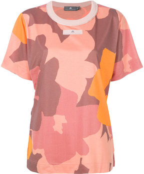 adidas by Stella McCartney flower patterned T-shirt