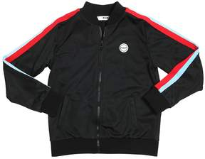 MSGM Track Jacket W/ Striped Bands