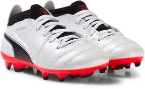 Puma White One 17.3 Junior