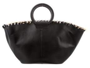 The Row Leather Market Bag
