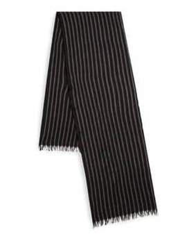 John Varvatos Frayed Wool Scarf