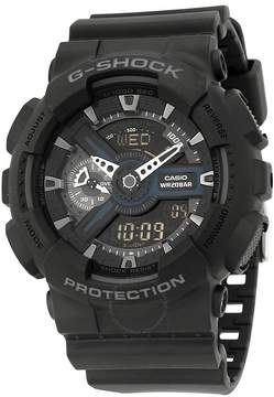 Casio G-Shock Analog Digital World Time Black Dial Men's Watch