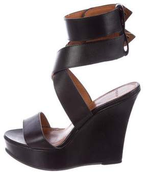 Givenchy Platform Wedge Sandals