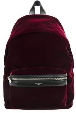 Saint Laurent zipped pocket backpack - RED - STYLE