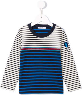 Familiar striped sweatshirt