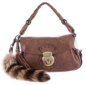 Barbara Bui Fur Accented Shoulder Bag
