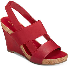 Aerosoles Magnolia Plush Wedge Sandals Women's Shoes