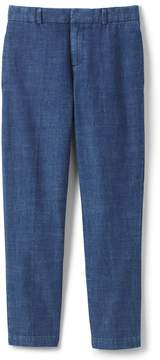 Lands' End Lands'end Little Boys Chambray Dress Pants