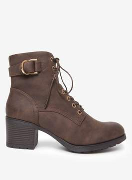Dorothy Perkins Brown 'Monika' Heeled Ankle Boots