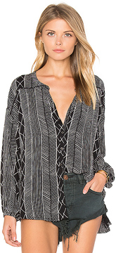 Amuse Society Spellbound Woven Top