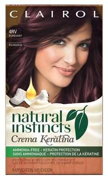 Clairol Natural Instincts Crema Keratina Hair Color - Burgundy 4RV