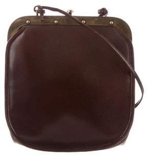 Bottega Veneta Vintage Leather Crossbody Bag