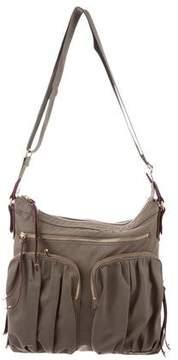 MZ Wallace Mia Bedford Nylon Crossbody Bag