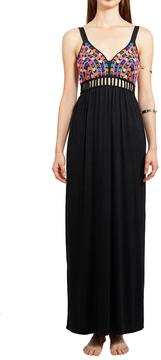 6 Shore Road Ganges Beaded Cutout Maxi Dress