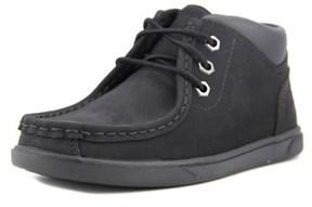 Timberland Grvtn Mtc Youth Moc Toe Leather Black Chukka Boot.