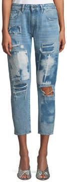 Levi's Crush Taper Tidal Wave Straight-Leg Jeans