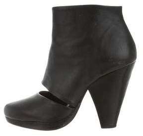Rachel Comey Peep-Toe Cutout Ankle Boots